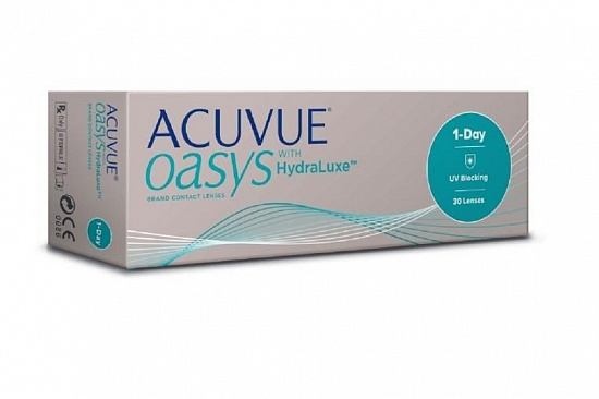Контактные линзы 1-day Acuvue Oasis with Hydraluxe